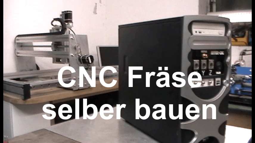 CNC Fräse selber bauen