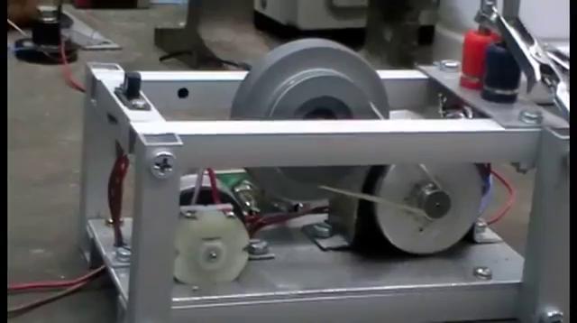 Chas Campbell Flywheel generator
