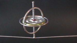 Gyroskop auf Schnur
