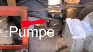 Pumpe mit Steigrohr