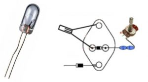 Bedini alle Komponenten mit Freilaufdiode