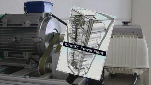 Generator treibt Kompessor an
