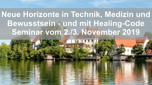 Seminar in Seeon Neue Horizonte 1