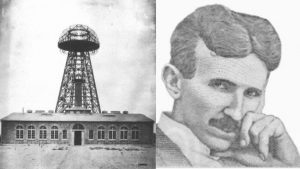 Nikola Tesla Wardenclyffe Tower Long Island 1904