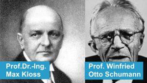 Prof Kloss und Schumann