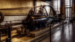 Von der Dampfmaschine zur Neutrinopower
