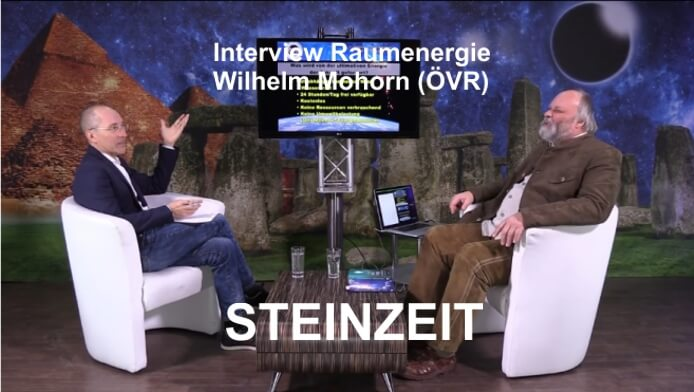 Interview Wilhelm Mohorn STEINZEIT