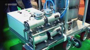 Kompressoren für Auftriebskraftwerk