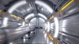 LEP-Beschleunigers am Forschungszentrum CERN