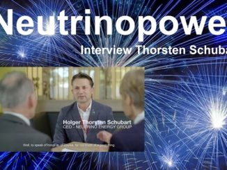 Neutrino Power - Interview Holger Thorsten Schubart