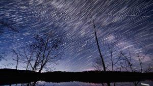 Rotation Nachthimmel Sterne