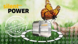 Methanol Kraftwerk von Silent Power