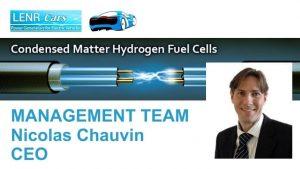 Nicolas Chauvin Firma LENR-Cars Schweiz