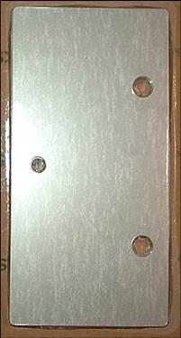 Trockenzelle Mittelplatte ohne Anschluss