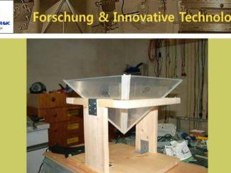 Bau einer Plexiglaspyramide
