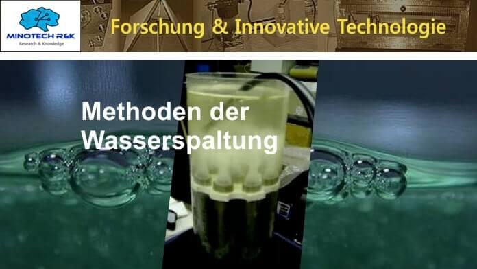 Wasserspaltung - Alternative Methoden