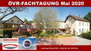 ÖVR Fachtagung im Mai 2020 in Payerbach/Reichenau @ Hotel Payerbacherhof