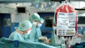 Blutkonserven Desinfektion mit Chlordioxid