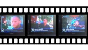 Wassermoped im Fernsehen