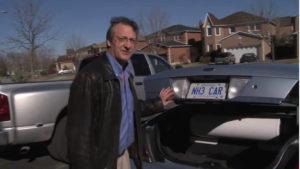 Greg Vezina mit seinem NH3-Car