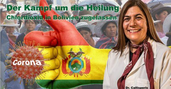 Chlordioxid in Bolivien zugelassen