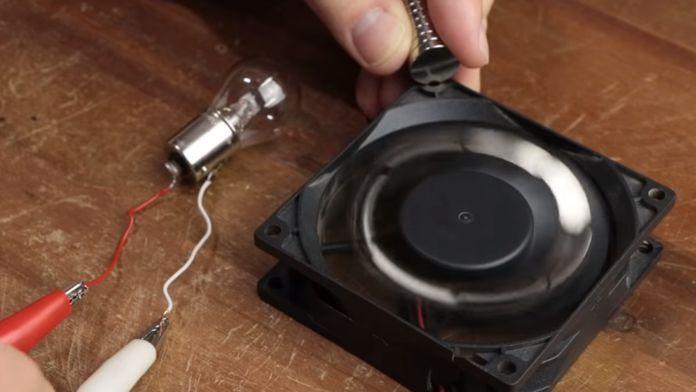 Magnetmotor Ventilatorvarianten