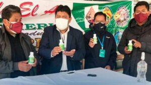 Chlordioxid aus dem technischen Labor der Universität UPEA in Bolivien